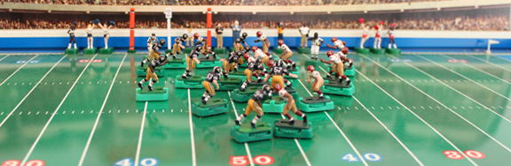 Electric Football Art Show ADA gallery